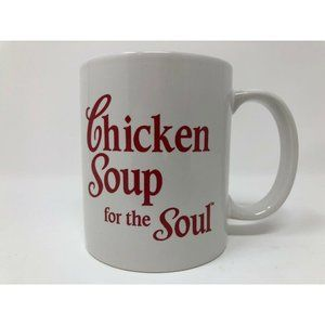 Chicken Soup For The Soul Coffee Mug White Red
